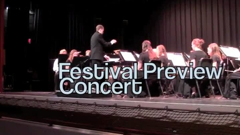 Thumbnail for entry Band Preview Concert