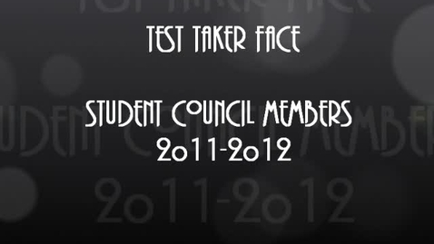 Thumbnail for entry CRCT Test Taker Face 2012