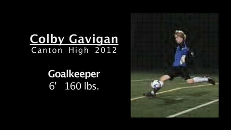 Thumbnail for entry Colby Gavigan Goalie