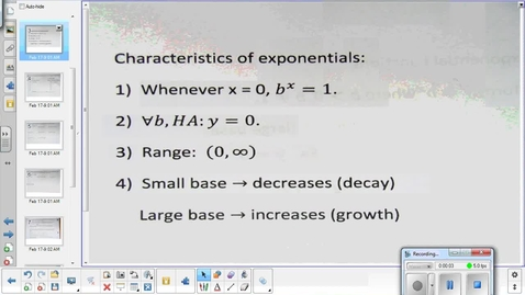 Thumbnail for entry Exponentials lesson pt 2  2-18-15