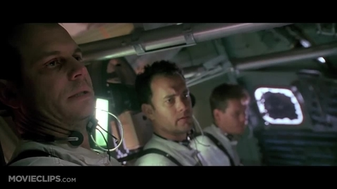 Thumbnail for entry Apollo 13 reentry scene