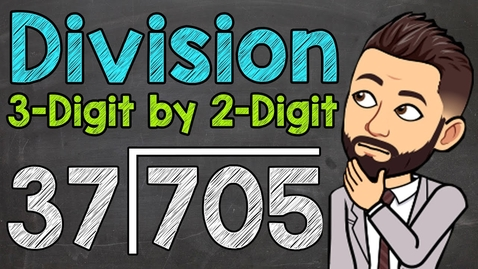 Thumbnail for entry Dividing 3-Digit Numbers by 2-Digit Numbers   Math with Mr. J