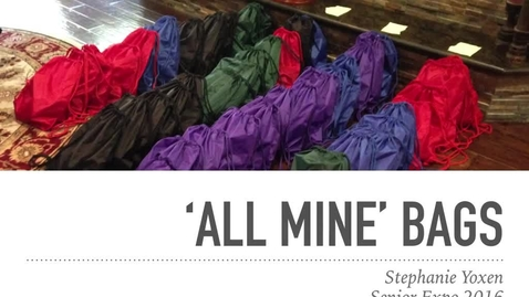 Thumbnail for entry 'All Mine' Bags