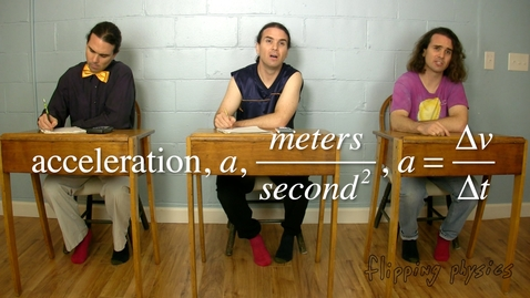 Thumbnail for entry Reviewing One Dimensional Motion with the Table of Friends