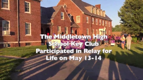 "Thumbnail for entry Students walk in ""Relay for Life"""