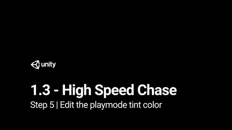 Thumbnail for entry Step 5 - Edit the playmode tint color
