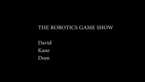 Thumbnail for entry The Robotics GameShow - WSCN (2014/2015)