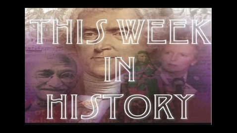 Thumbnail for entry This Week in History 10_10_11