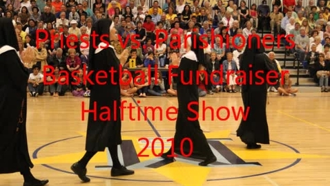 Thumbnail for entry Mary Star of the Sea/Holy Trinity Priests vs. Parishioners Halftime Show