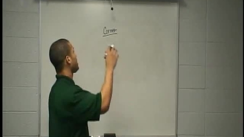 Thumbnail for entry Coach Christopher Bocage Perfect Routes - Corner Route