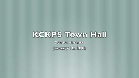 Thumbnail for entry KCKPS Town Hall Meeting