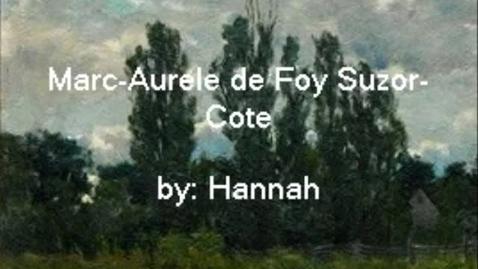 Thumbnail for entry Marc-Aurele de Foy Suzer-Cote