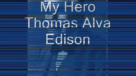 Thumbnail for entry Thomas Edison