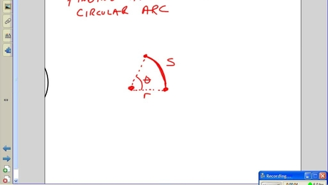 Thumbnail for entry Juda Math - Calculating Arc length --  Practice