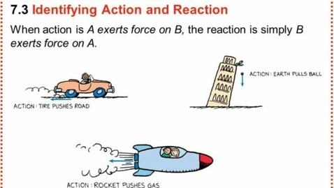 Thumbnail for entry Action/Reaction Pairs