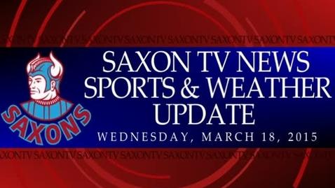 Thumbnail for entry Saxon TV 031815