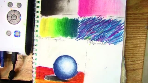 Thumbnail for entry demo for using chalk and charcoal