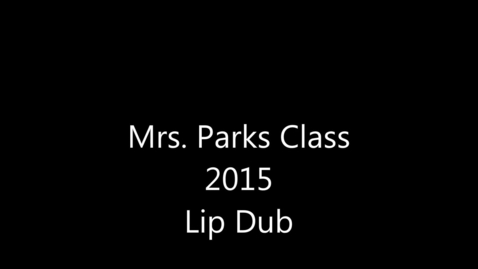 Thumbnail for entry LIp Dub 2K15
