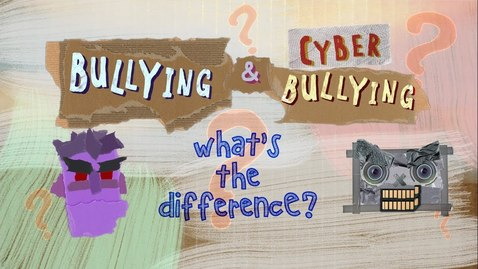 Thumbnail for entry Grade 5:   Assignment #1 - First Video (What's Cyberbullying?)