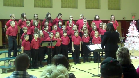 Thumbnail for entry Woodland Honor Choir Christmas Concert Part 5
