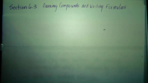 Thumbnail for entry Writing ionic formulas