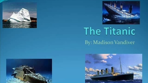 Thumbnail for entry The Titanic