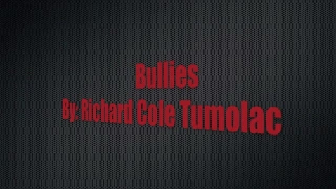 Thumbnail for entry Bullies