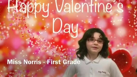 Thumbnail for entry Valentines Day Norris