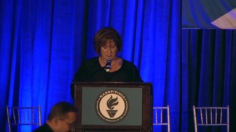 Thumbnail for entry NASSP Executive Director JoAnn Bartoletti at the APOY Awards Gala