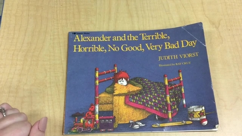 Thumbnail for entry Alexander and the terrible, horrible, no good, very bad day