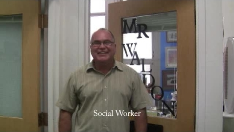 Thumbnail for entry Social Worker