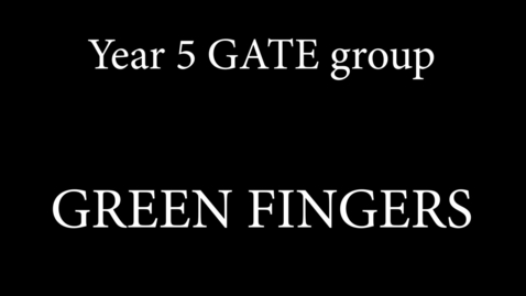 Thumbnail for entry y5 gate green fingers