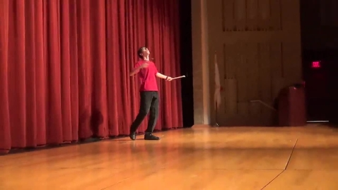 Thumbnail for entry Chinese yoyo (Diabolo) demonstration 2