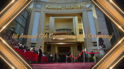 Thumbnail for entry Clay International Commencement Ceremony-Part 1  The Award Part
