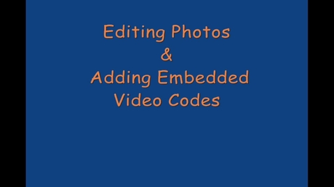 Thumbnail for entry Weebly Module 3