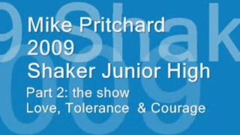 Thumbnail for entry Mike Pritchard at Shaker Part 2