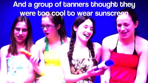 Thumbnail for entry Tanning on Fry Day
