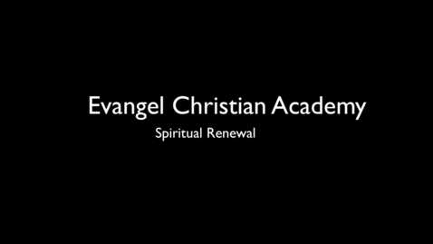 Thumbnail for entry Spiritual Renewal...It's a e-thing