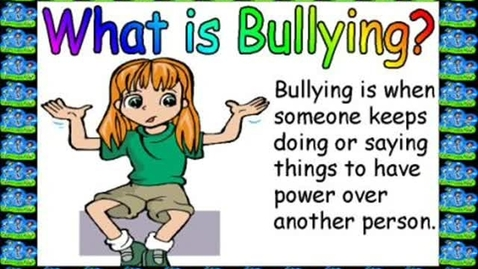 Thumbnail for entry Stop Bullying Today