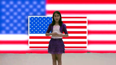 """Thumbnail for entry Ben Sheppard Elementary 5th Grade Class Sings, """"Nations of the World"""""""