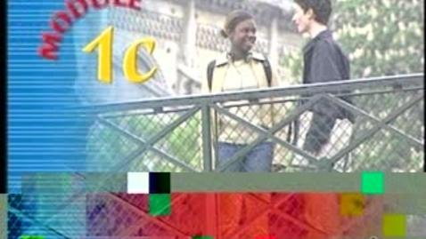 Thumbnail for entry French Video: Salut! Ça va?