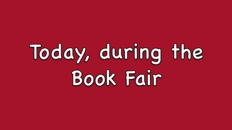 Thumbnail for entry Book Fair 3