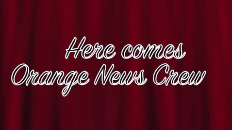 Thumbnail for entry Orange News 11-6-13