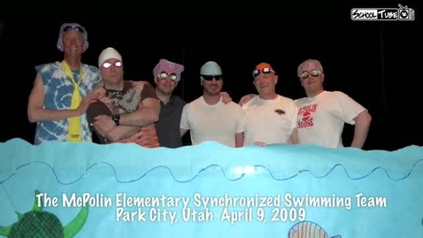 Thumbnail for entry McPolin Synchronized Swimmers