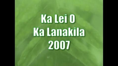 Thumbnail for entry Ka Lei O Ka Lanakila