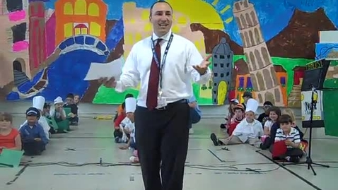 Thumbnail for entry Mr. Cerreto's Bus Stop, Italiano