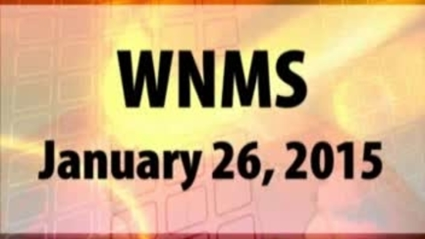 Thumbnail for entry 01-26-15 WNMS Season 1.5 Episode 70