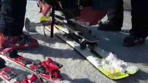 Thumbnail for entry Adaptive Skiing