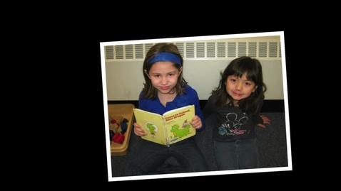 Thumbnail for entry Kindergarten Pals #2 2012-13