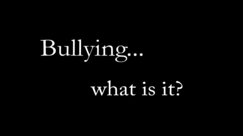 Thumbnail for entry What are the 3 Types of Bullying? by Ambar Hicks